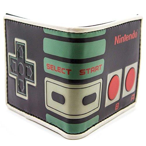Nintendo NES Retro Nero portafoglio