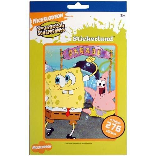 Spongebob Squarepants Stickerland Sticker Book ~ 276 Stickers by Sandy Lion - 1