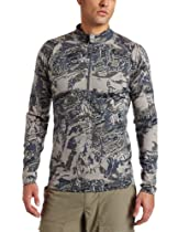 Sitka Gear Merino Core Zip Tee Base Layer Shirt, Optifade Open Country, Large