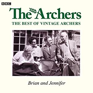 Vintage Archers: Brian and Jennifer Radio/TV Program