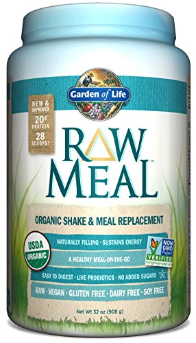 Garden Of Life Raw Organic Meal 32 Oz 908g Powder