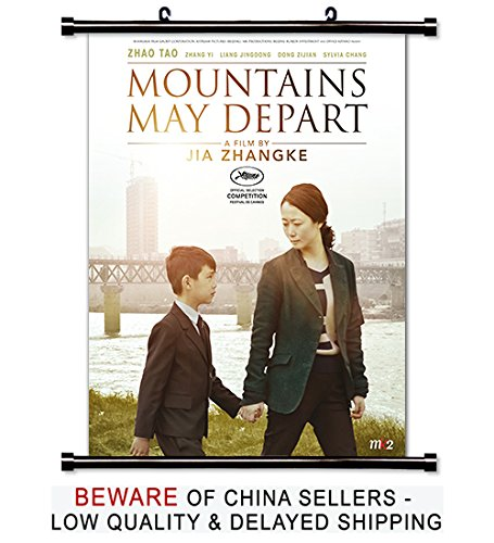 Mountains May Depart Movie Fabric Wall Scroll Poster (16x21) Inches