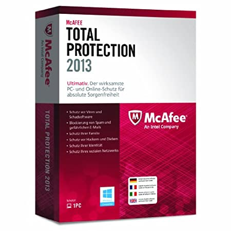 McAfee Total Protection 2013 - 1 User