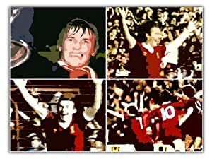 Kenny Dalglish Liverpool Fc Montage Poster Art Print 60x40cm by AUSTERITY ART