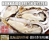 【冬ギフト 北海道厚岸産 生牡蠣 殻付き 希少な3Lサイズ 20個 (150g?200g/1個) 軍手・カキナイフ付】 満天☆青空レストランでご紹介された厚岸の極上牡蠣! 世界中の食通をうならせる海のミルク。創業70年を誇る厚岸の牡蠣漁師より直送します。時にはギフトに、時には自分へのご褒美をちょっと贅沢に。 (20個)