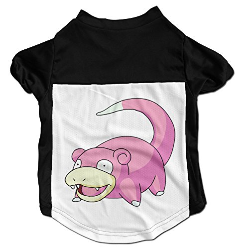 [NNHAHA Pokemon GO Slowpoke Pet / Dog / Puppy Clothes Vest T-Shirt] (Slowpoke Costume)