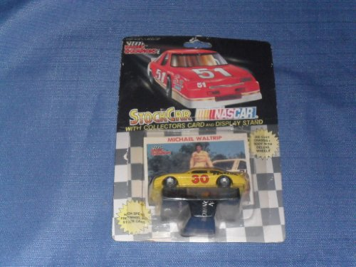 1991 NASCAR Racing Champions . . . Michael Waltrip #30 Pennzoil 1/64 Diecast . . . Includes Collectors Card and Display Stand - 1