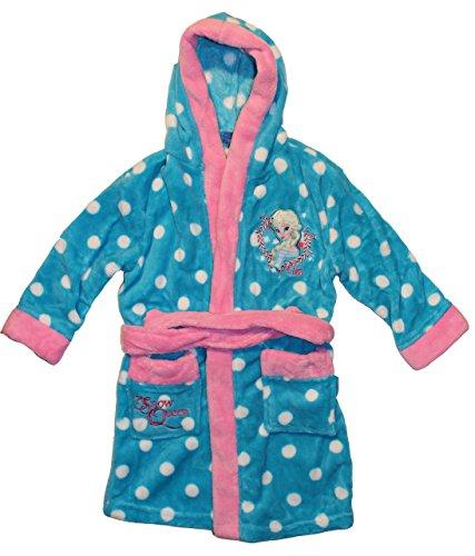 Disney Frozen ragazza Frozen accappatoio-Vestaglia con Cappuccio in vari colori e taglie Hellblau 122 cm