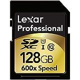 Lexar 128 Go Carte Mémoire SDHC Classe 10 UHS-I 600x LSD128CRBEU600
