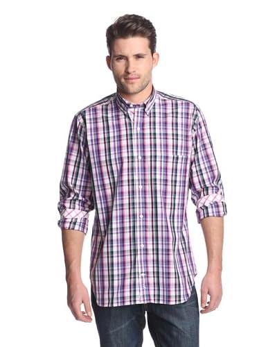 TailorByrd Men's Rapids Plaid Shirt