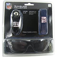 Officially Licensed New York Giants Sport NFL Sunglasses Tripack by WD