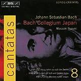 Bach, J.S.: Cantatas, Vol. 8 - Bwv 22, 23, 75