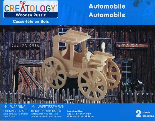 Creatology Automobile Wooden Puzzle