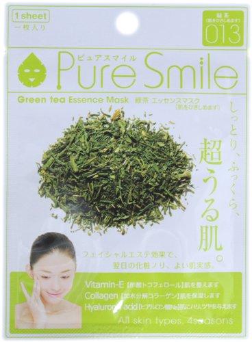 ピュアスマイルエッセンスマスクシリーズ 緑茶10枚セット
