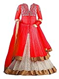 #5: SKY WORLD Girl's Georgette and Net Embroidered Lehenga Choli (8-14 Yrs) (World_541)