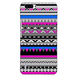 Jugaaduu Aztec Girly Tribal Back Cover Case For Honor 6 Plus