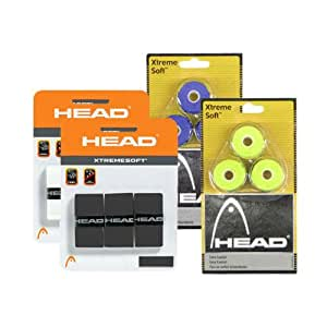 Head XtremeSoft Gray Griffbanhd 3 Pack Tennis