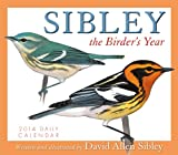 Sibley: The Birders Year 2014 Boxed/Daily (calendar)