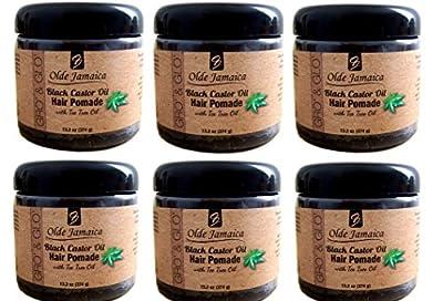 LOT OF 6 Jamaican Black Castor Oil Pomade - 13.2 Oz