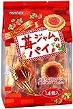 三立製菓 苺ジャムのパイ 14個×8袋