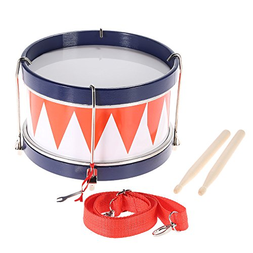 ammoon-Colorful-Children-Kids-Toddler-Drum-Musical-Toy-Percussion-Instrument-with-Drum-Sticks-Strap