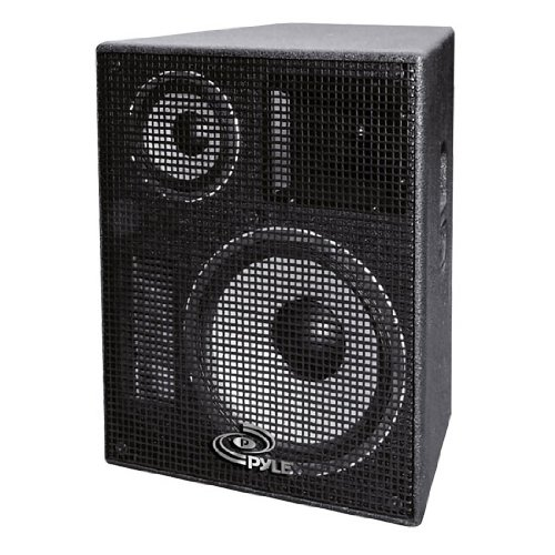 Pylepro Ppadr128 12-Inch Heavy Duty 3-Way Stage Monitor Speaker Cabinet