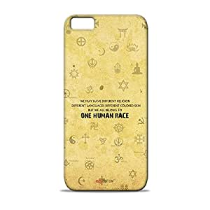 ezyPRNT Hard Back case for Apple iPhone 5S Secularism Typography