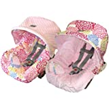 Itzy Ritzy Baby Ritzy Rider Infant Car Seat Cover, Fresh Bloom