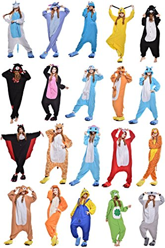 Kigurumi Pajamas Unisex Adult Cosplay Costume Animal Pyjamas