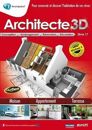 Architecte 3D silver 17