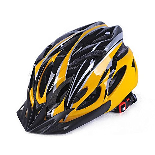 Ezyoutdoor Helmet Casque Craniacea Armet Headpiece Helmet Super Lightweight Integrally Road Bicycle Cycling Helmet Bike Motorcycle Adult Holt Snow Sports Helmet (yellow) (Team Canada Hockey Jersey 2014 compare prices)
