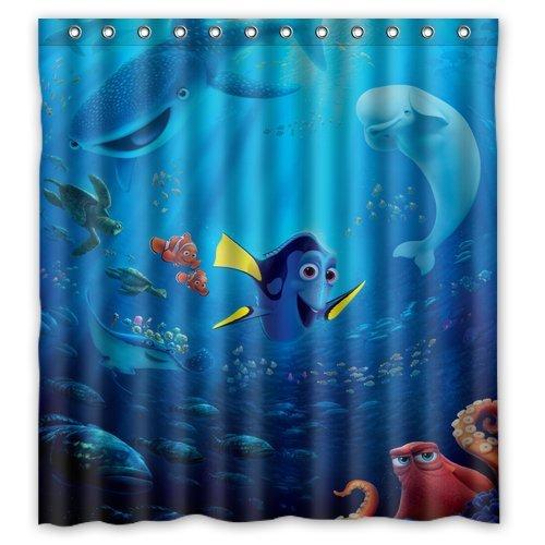 Custom unique waterproof shower curtain bathroom curtains 60x72 inches