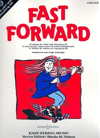 Fast Forward, Violin Part + CD, Katherine & Hugh Colledge