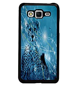 PrintDhaba Leopard D-4880 Back Case Cover for SAMSUNG GALAXY GRAND PRIME (Multi-Coloured)
