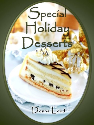 Special Holiday Desserts cover