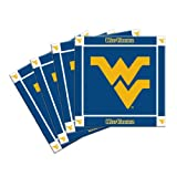 NCAA West Virginia Mountaineers Ceramic Coasters-Pack of 4, Blue at Amazon.com