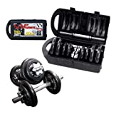 CAP Barbell RSWB-40TP 40 lb. Dumbbell Set