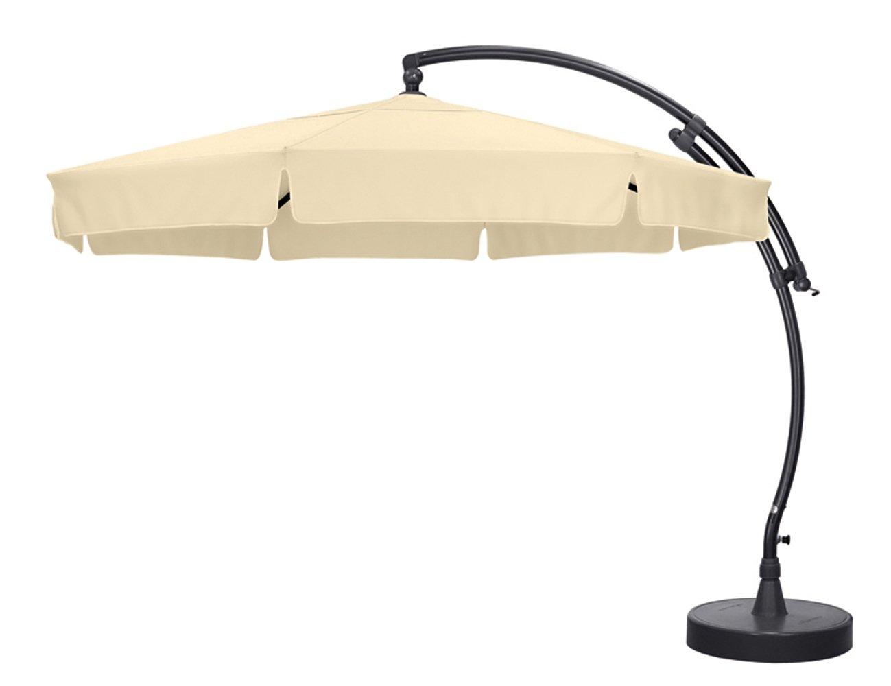 Sun Garden 10115886 Ampelschirm Easy-Sun, Polyester, ø 3.5 m, anthrazit / beige jetzt kaufen