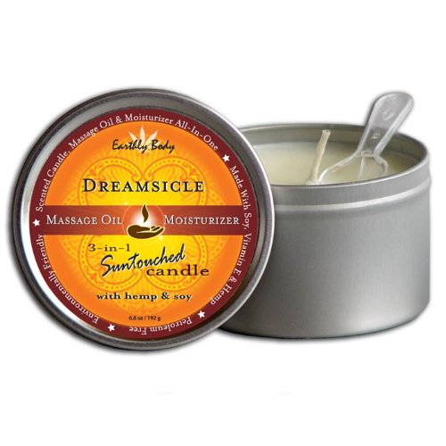 Earthly Body Massage Candle- Dreamsicle Scented