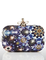 Marcel Wanders Blue Fireworks Clutch Bag
