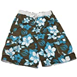 Mens Floral Pattern Swimming Shorts