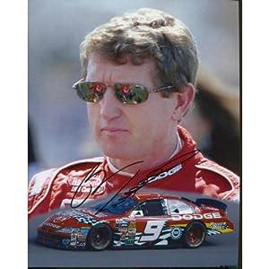 Bill Elliott Autographed Photo - 8x10 - Autographed NASCAR Photos by Sports Memorabilia