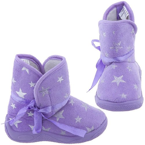 Buy Low Price Purple Star Bootie Slippers for Toddler ...