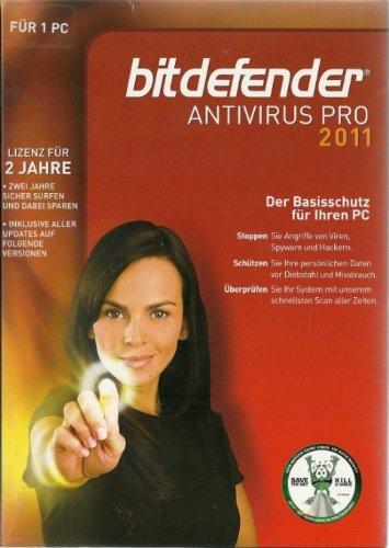 BITDEFENDER AntiVirus PRO 2011 3 User 2 Jahre Family Edition Retail (DE), PC