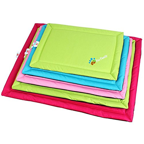 eBelken Colorful Cool Summer Waterproof Cushion Pad, Pet Dog Bed Cover (XL)