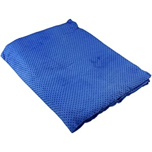 Arctic Chill Blue Cooling Towel