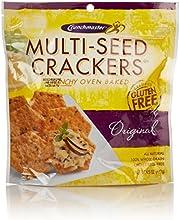 Crunchmaster Multi-Seed Crackers, Gluten Free Original, 4.5 Oz