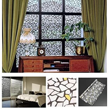 Buy Cm Window Film Frosted Privacy Window Glass Film Vinyl Etch - Window stickers for home india