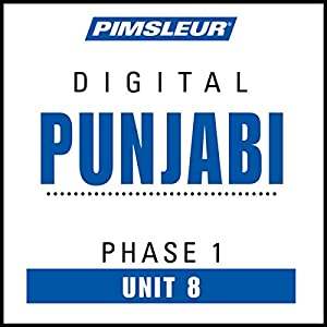 Punjabi Phase 1, Unit 08 Audiobook