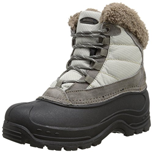 Northside Women's Fairmont II Snow Boot,Stone,6 M US (Amazon Womens Snow Boots compare prices)